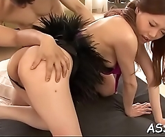 Wicked and wild oriental orgy