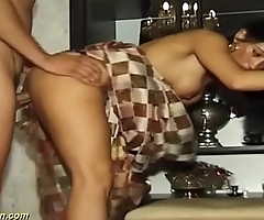 busty indian Milf fucked