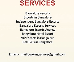 Bangalore escorts Call girls service