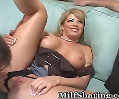 Swinger MILF Gets Her Wish