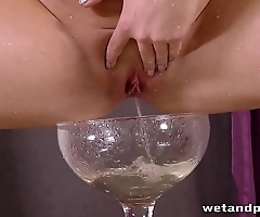 Wetandpissy - Incredibly hot pissing from perfect czech girl