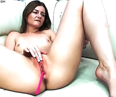 sexy chick with nice body from hotpornocams.com masturbate