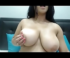 Sexy big tits Latina  free cam chat