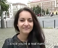 Public Pickup Girl Seduce Tourist For Fuck And Money 20