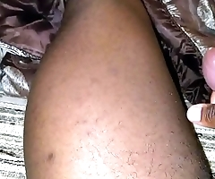 Jacking off with thick cum ending