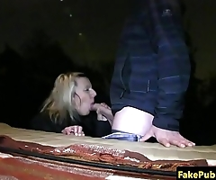 Amateur babe banged nicely in eurosex action