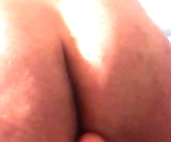 Furry chub toys his ass with multiple toys!.MOV