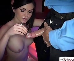 The Stripper Experience - Sexy Kendall Karson is punished by a big dick