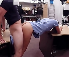 Babe exchanged her undies for a fuck