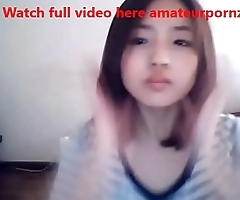 Cute Korean Girl on Web Cam - Watch full video here amateurpornzone.com