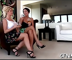 Milf gives deepthroat blow job