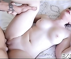 Muff explodes from orgasms