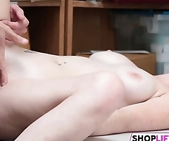 Shoplifting Teen Pays Her Dues