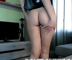 Skinny Fit Teen Desperate For Attention...