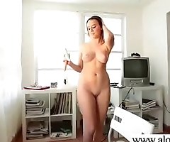 Masturbation Sex Tape With Superb Horny Teen Girl (alexis adams) video-01
