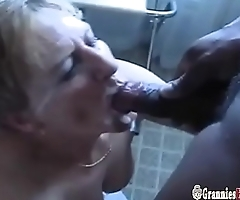Two Grannies Satisfy A Bunch Of Horny Mature Guys