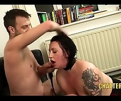 BDSM BBW Brit MILF Big Tits Rough Sex