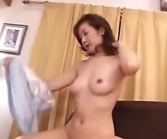 Hot Asian Japanese Mom Loves Her Sons Cock and Cum
