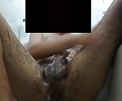 Young Hairy Gay Boy Shower