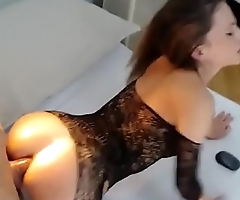 Wet girl and big cock Camshow