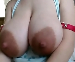 Webcam Teen with big Boobs having some Fun