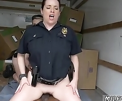 Blonde fucked in barn and brunette milf perfect ass Black suspect