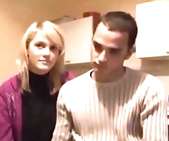 Beautiful French Teen Fucks Her Brother In Law !