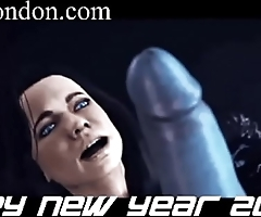 monster hentai new year happy futa sfm