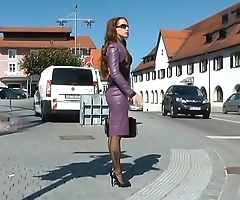 Mom Shopping Heels Stockings Dildo. See pt2 at goddessheelsonline.co.uk